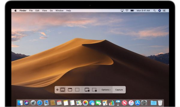 Screenshot su Mac OS